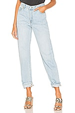 Dr. Denim Piper Boyfriend in Light Blue Used