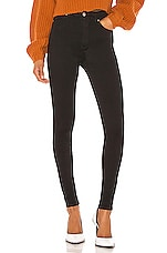 Dr. Denim Moxy Skinny in Black