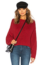 Dr. Denim Norine Knit Sweater in Blood Red