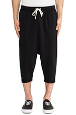 Miles Sweatshort in Black