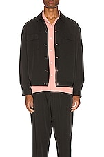 Drifter Pala Shirt Jacket in Black