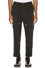 Drifter Henderson Elastic Waist Trousers in Black