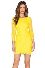 Zarita Dress in Lemon Gold