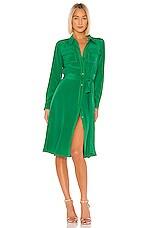 Diane von Furstenberg Antonette Dress in Stalk