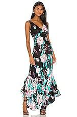 Diane von Furstenberg Florain Dress in Lilac Black