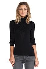 Diane von Furstenberg Turtleneck Sweater in Black