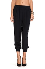 Janeta Pant in Black