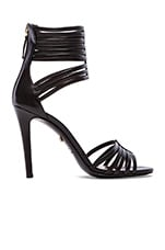 Ursula Heel in Black Nappa