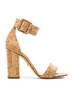 Ulrica Heel in Natural Cork