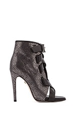 Radcliff Bootie in Anthracite Grainy Metallic