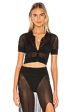 DEVON WINDSOR Lexi Top in Black