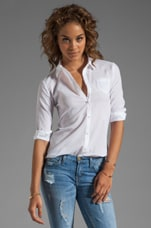 Textured Cohen Shirt in White