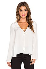 Elizabeth and James Draven Blouse in Ivory