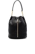 Cynnie Sling Bag in Black