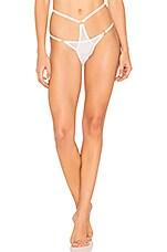 EASTNWEST Hera Mesh Bikini in White