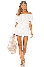 eberjey Portola Elsie Dress in White