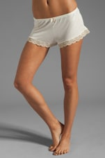 Crochet Dreams Shorts in Ivory
