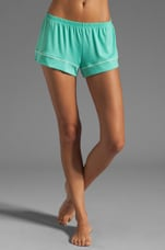 Gisele PJ's Short in Spearmint
