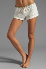 Miss Liberty PJ Short in Ivory/Lemon