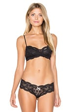 India Lace Retro Bralet in Black