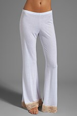 Bardot Pant in White