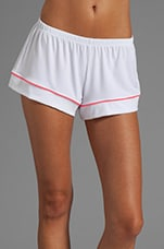 Gisele PJ's in White/Coral Glow