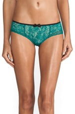 Veronique Brief in Emerald
