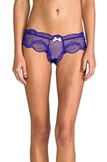 Estelle Cinched Boythong in Cobalt