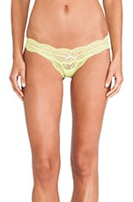 Thong in Chartreuse
