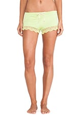 Zinia Short in Chartreuse