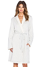 eberjey Alpine Chic Classic Robe in Marble Heather