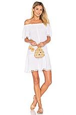 eberjey Sea Breeze Devon Dress in White