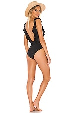 eberjey So Solid Loreta One Piece in Black
