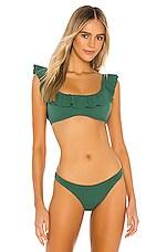 eberjey Pique Miranda Bikini Top in Palm