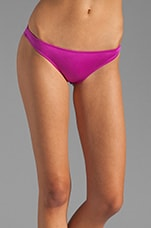 Beach Glow Allie Bikini Bottoms in Magenta