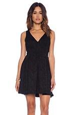 Broque Dress in Black