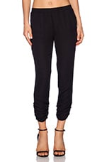 Rouged Pant in Black
