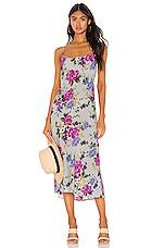RESA Berri Slip Dress in Sky Floral