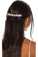 Elizabeth Cole Meryl Hair Comb in Gold