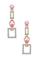 Elizabeth Cole Linnette Earrings in Pink