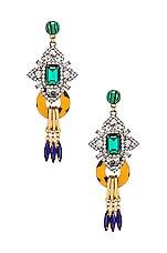 Elizabeth Cole Edwina Earrings in Multi