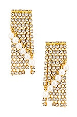 Elizabeth Cole Keisha Earrings in Gold
