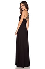 Dario Maxi Dress in Black
