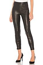Ella Moss Faux Leather Legging in Black