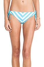 Cabana Stripe Tunnel Bottoms in Blue
