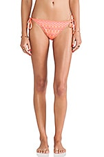 Tie Side Bikini Bottoms in Pink
