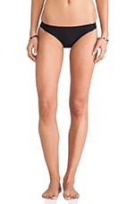 Tab Side Bikini Bottoms in Black