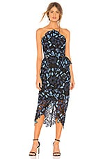 ELLIATT Times Dress in Blue Multi