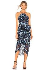 ELLIATT Times Dress in Blue Multi