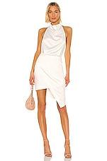 ELLIATT Camo Dress in White